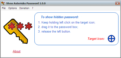 Show Asterisks Password